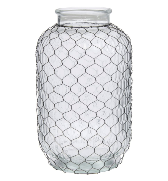 Park Hill Pickle Jar With Poultry Wire