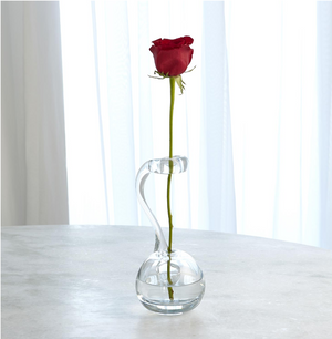 Clear Ring Flower Vase - 13 Hub Lane   |