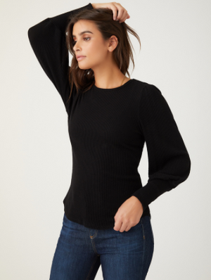 Fifteen Twenty Bishop Sleeve Top - 13 Hub Lane   |  Sweater