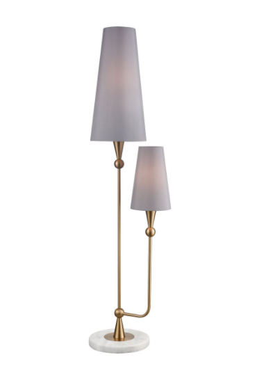 Simpatico 2-Light Floor Lamp - 13 Hub Lane   |