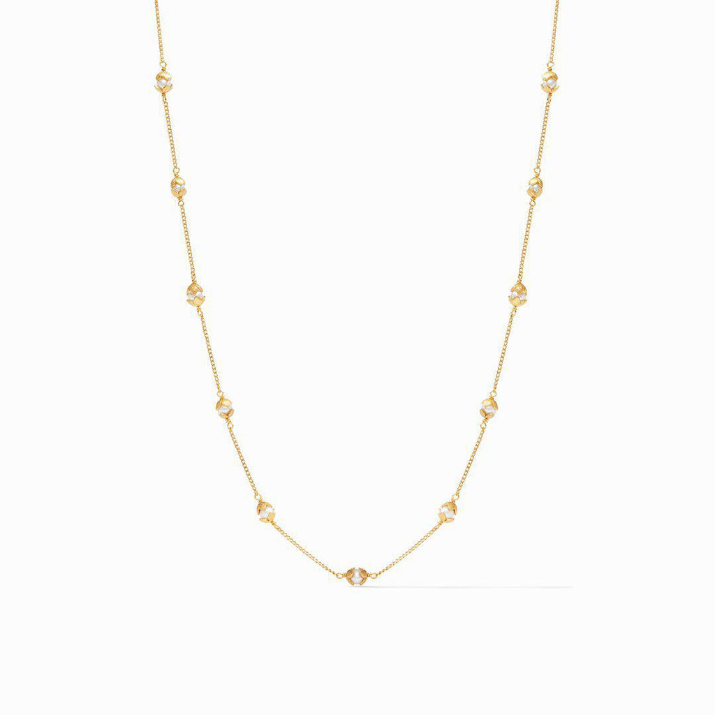 Julie Vos Penelope Delicate Station Necklace - 13 Hub Lane   |