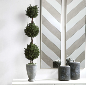 Cypress Triple Topiary - 13 Hub Lane   |