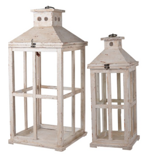 Weathered Lantern - 13 Hub Lane - A&B Home Home Decor Type_Lantern