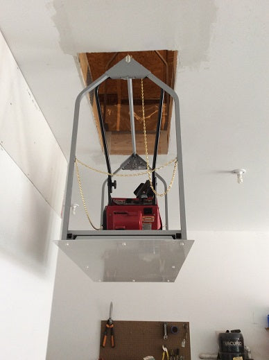 attic lift with generator