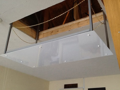 garage ceiling lift going up