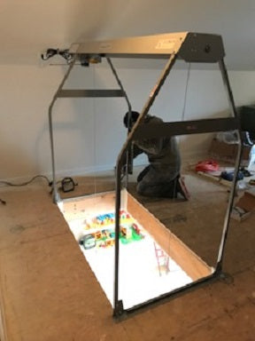 image of guy installing versalift loft lift