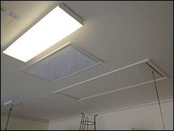 garage ceiling lighting