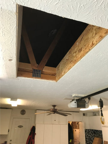 Attic Lift Hole