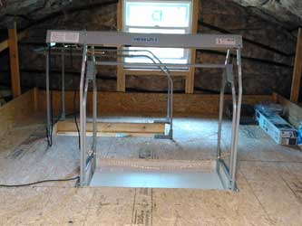 attic garage hoist