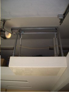 ultimate attic lift on plywood decking
