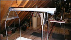 garage attic lift