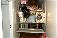pantry lift with dry goods