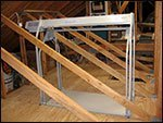 truss legs in attic 1
