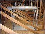 truss legs in attic 2