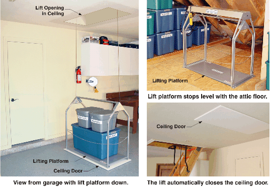garage pictures with storage materials