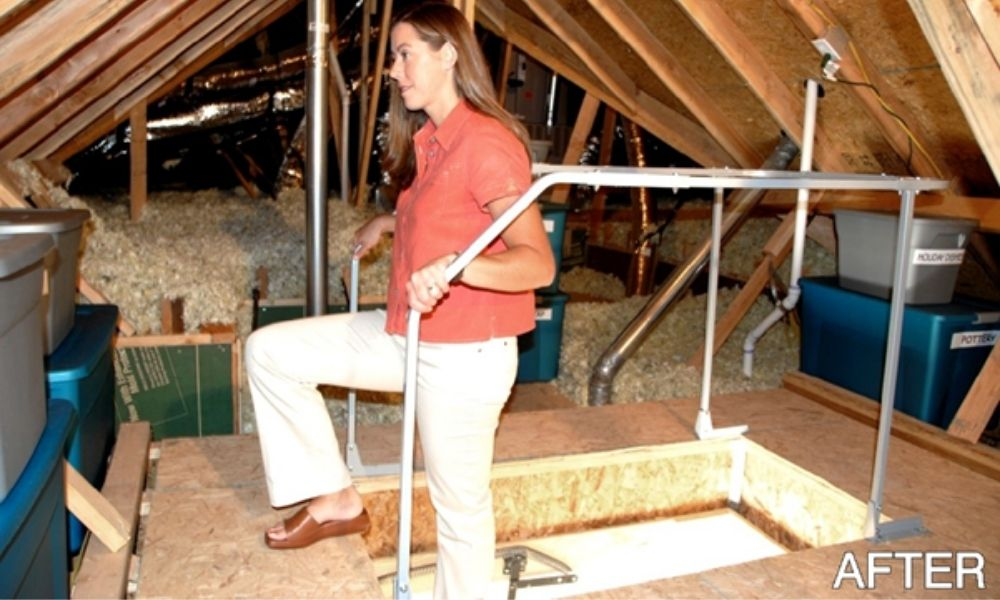 Considerations When Installing an Attic Storage Lift