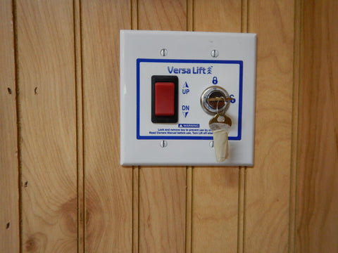 In Wall Mounted Switch for VersaLift