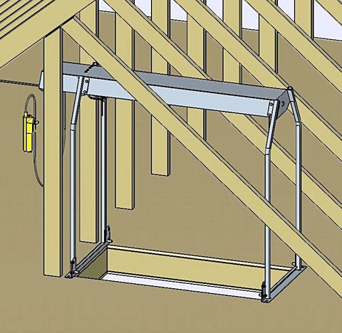 Truss Leg Kit for Attic Lift Model 24 Versalift