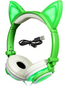 Headphones Cat Ear with Glowing Light - Linzh Store