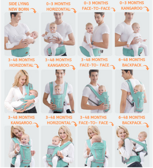 All-in-one Baby Breathable Carrier - Linzh Store