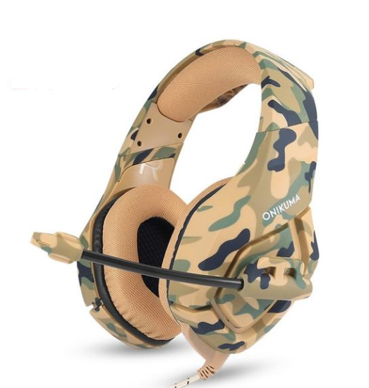 Gaming Headset Camouflage Headset Bass - Linzh Store