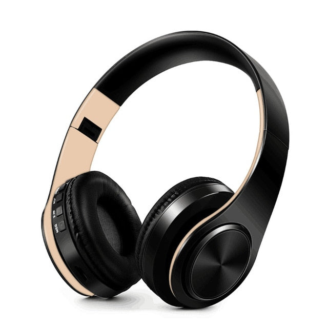 Tourya Wireless Foldable Bluetooth Headphones - Linzh Store