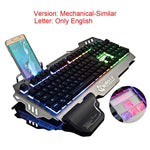 Gaming Keyboard English and Russian RGB - Linzh Store