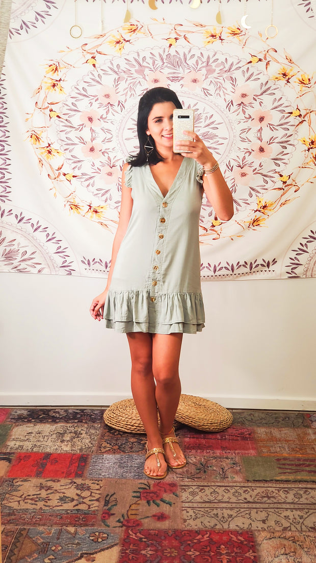 Sundance Dropwaist Mini Dress