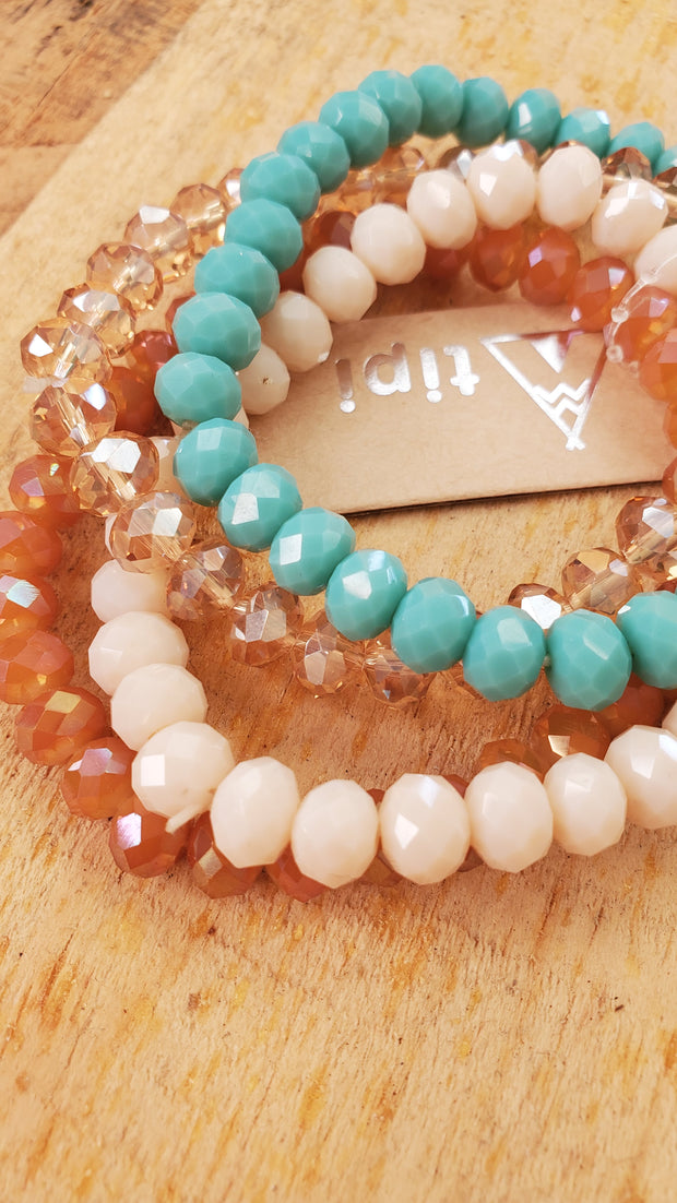 Semi-Precious Stretchable Bracelet