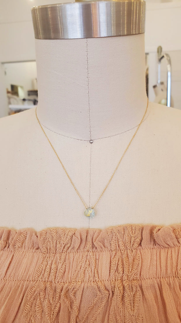Topaz 925 Goldfield Necklace