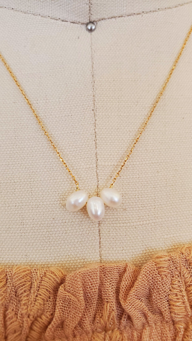 Pearl 925 Goldfield Necklace
