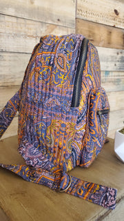 Woven Cotton Ethnic Hippie Backpack