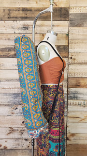 Woven Cotton Hippie Yoga Mat Bag