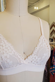 Lace Triangle Bralette