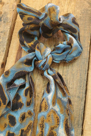 Scrunchie with a scarf detail
