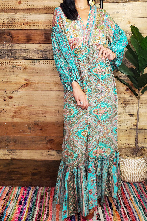 Hippie Dolman Maxi Dress