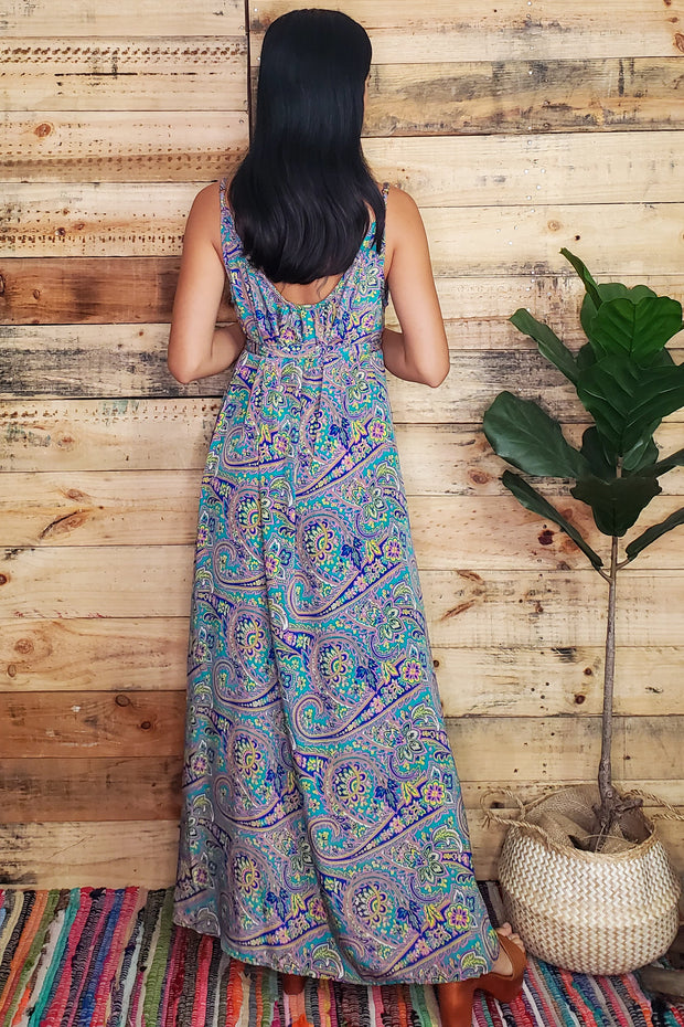 Sleeveless Vacay Maxi Dress