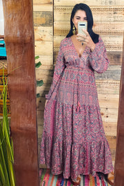 Heaven Long Sleeve Maxi Dress