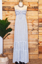 Nautica Strapless Maxi Dress