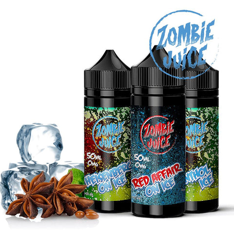 Fruity Menthols E-liquid  7 x 50ml (350ml) Shortfill multipack - FREE Nicotine Shots & UK Shipping - £19.99