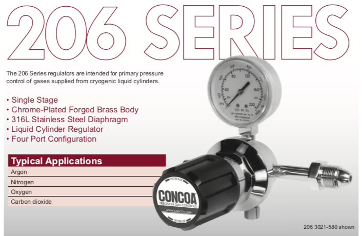 206 Series Concoa Regulator