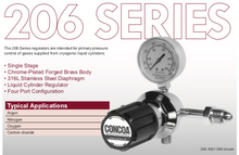 Load image into Gallery viewer, 206 Series Concoa Regulator