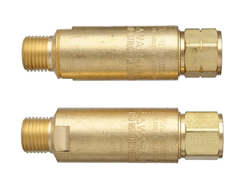 0656-0001 Victor Flamebuster FB-1 Heavy Duty Flashback Arrestor - Pair Pack, Oxy/Fuel, Torch Mount, B