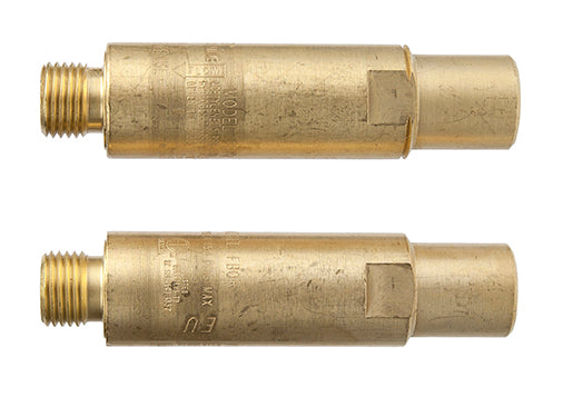 0656-0004 Victor Flamebuster FBR-1 Heavy Duty Flashback Arrestor - Pair Pack, Oxy/Fuel, Regulator Mount, B