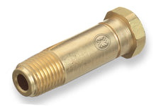 "Load image into Gallery viewer, CO-3 Western Fitting Brass, 1/4"" NPT, 2"" Long with Washer CGA-320 Nipple"