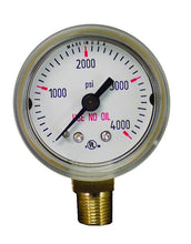 Load image into Gallery viewer, 315000 Weldmark Gauge 1-1/2in x 4000 LB Brass