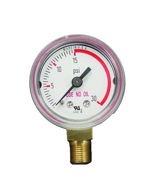 315030 Weldmark Gauge 1-1/2 x 30 LB Red Zone