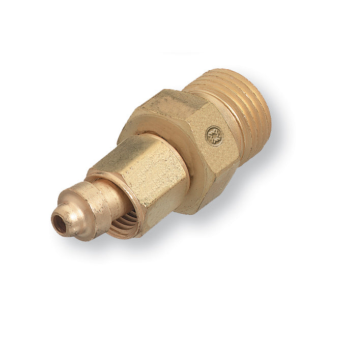 104 Western Fitting Male A-Size to Female B-Size LH Adaptor