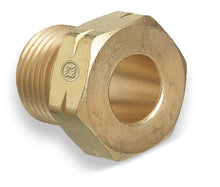 "Load image into Gallery viewer, 15-2 Western Fitting Brass .880""-14 NGO, LH Male CGA-510 Nut"