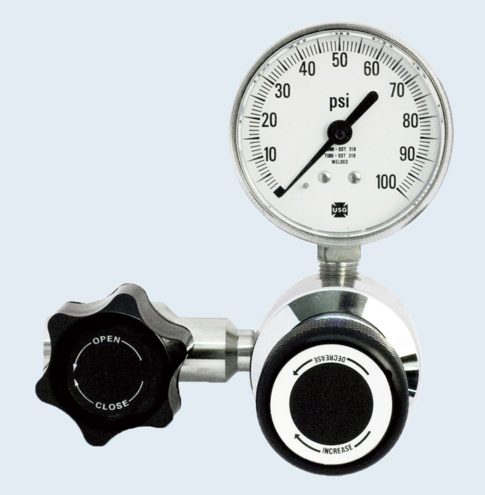 SGD 3401L Series Stainless Steel High Purity Line Regulator